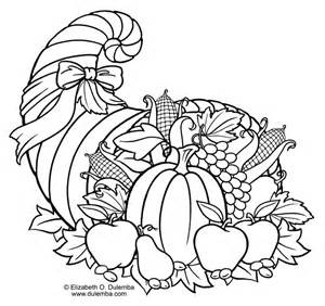 cornucopia coloring page thanksgiving cornucopia coloring pages az coloring pages