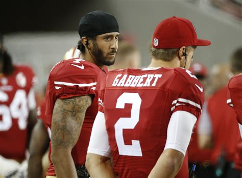 What Does Qb Stand For by 49ers Qb Kaepernick Refuses To Stand For National Anthem