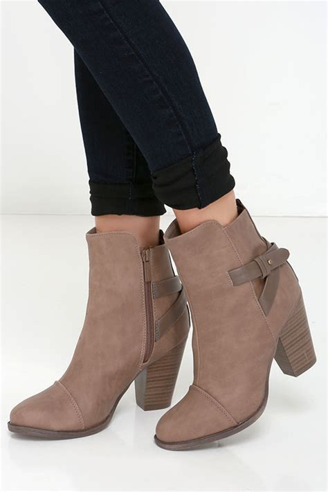 high boot heels beige boots high heel boots ankle boots 38 00