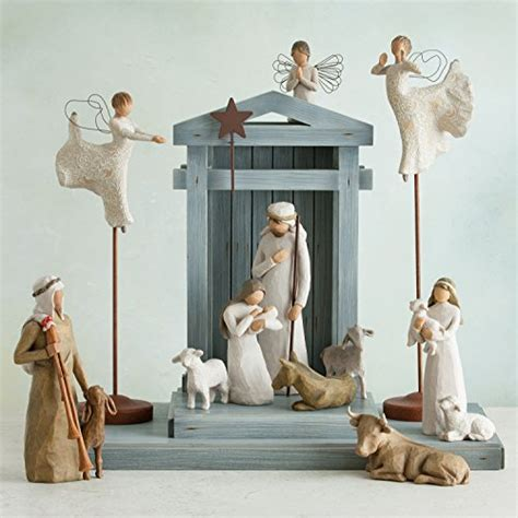Bros Fashion Goat B 001 willow tree nativity ox and goat import it all