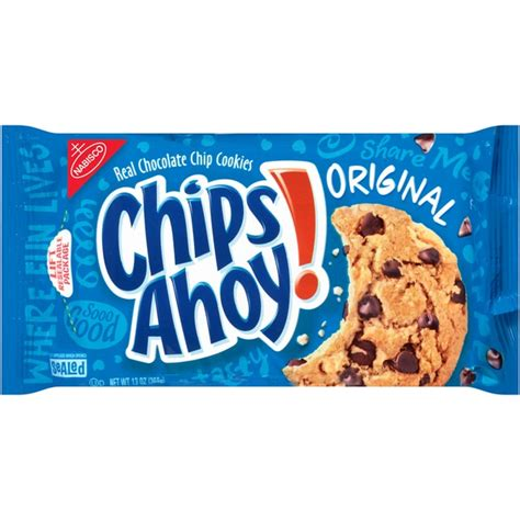 Happytos Real Corn Chips 160 G chips ahoy original chocolate chip cookies from strack