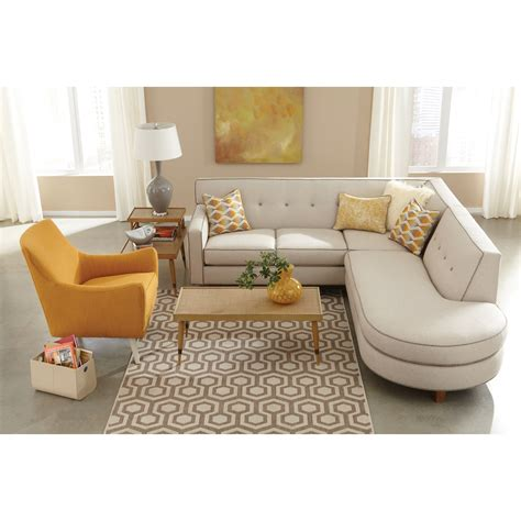 rowe dorset sectional sofa rowe dorset contemporary 2 sectional sofa with