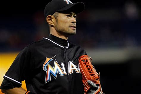 Ichiro Suzuki Ichiro Suzuki Aids Marlins As He Nears Japanese Runs