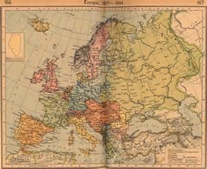 Europe 1914 Map by William Robert Shepherd 1871 1934