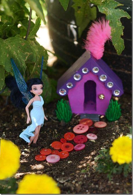 making  fairy home   garden great idea  kids