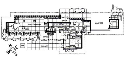 frank lloyd wright home and studio floor plan frank lloyd wright