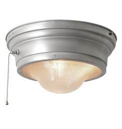 pull string ceiling light perfectlite flush mount w prismatic lens and pull chain