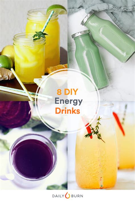 energy drink for workout 8 diy energy drinks to help power your workouts daily burn