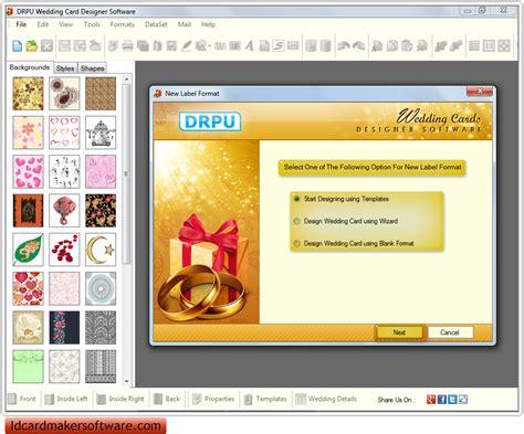 free wedding maker software screenshots of wedding card maker software to design wedding invitation card