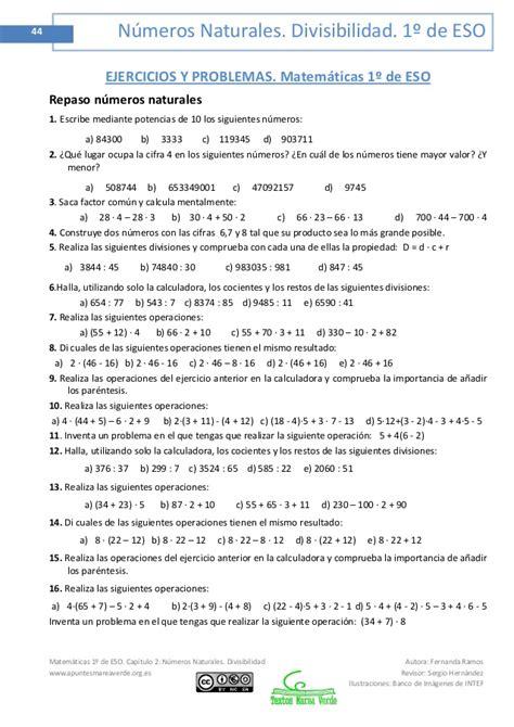 matemticas 2 eso 8490787506 1 eso matem 225 ticas mareaverde org