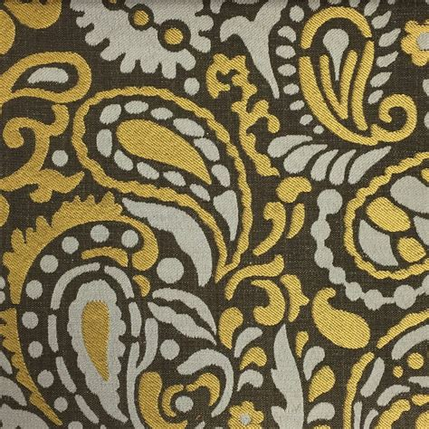 pattern fabric by the yard harley modern paisley pattern jacquard fabric by the yard