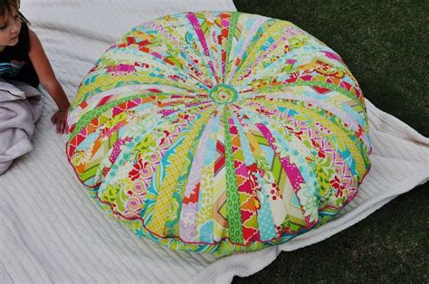 made jelly roll floor pillow this tracey i might