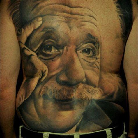 einstein tattoo einstein best design ideas