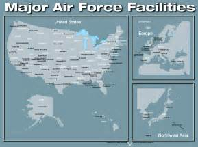 map of air bases in air bases map my