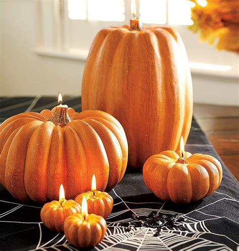 pumpkin candles  green head