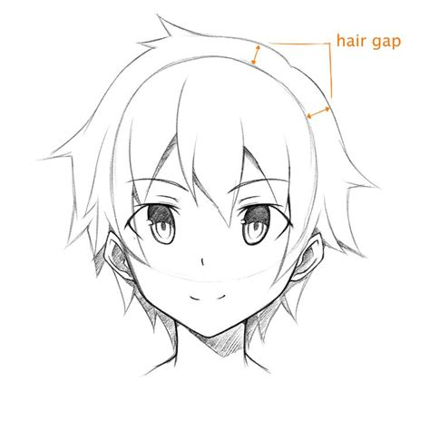 front face hair styles sketches best 25 anime face drawing ideas on pinterest how to