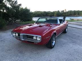 1967 Pontiac Convertible For Sale 1967 Firebird 400 Convertible Phs Documented For Sale