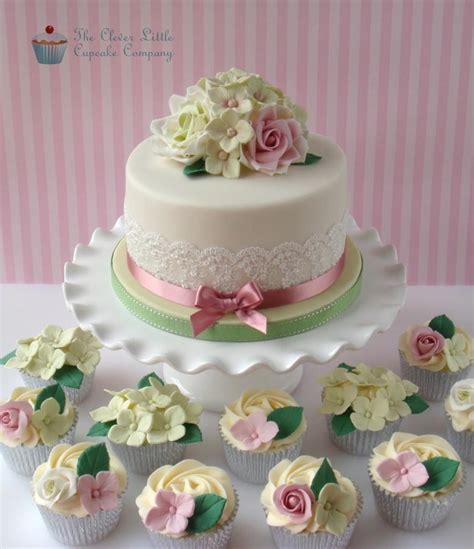 Roses And Hydrangeas Th  Ee  Birthday Ee   Cake Cake By The