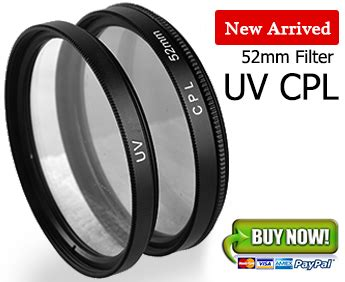 Promo Uv Filter Pro Tama 52mm Dst 52mm cpl c pl circular polarizing uv lens filter for canon ef m 18 55mm nikon ebay
