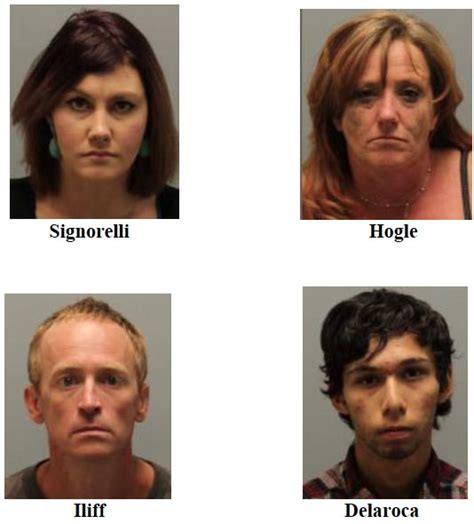 Slo County Arrest Records Four Arrested For Possession At Paso Robles Motel Paso Robles Daily News