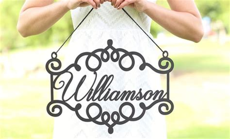 groupon morgann hill design personalized wooden signs morgann hill designs groupon