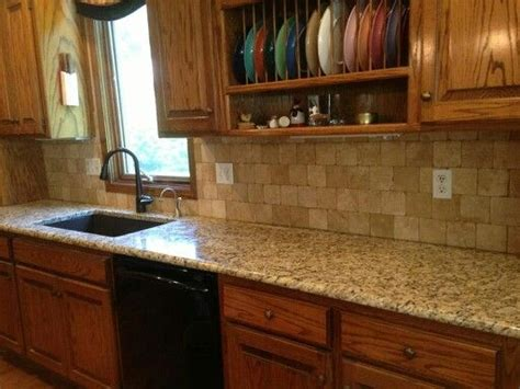 Kitchen Backsplash Ideas With Santa Cecilia Granite by Gemelli Granite And Design Santa Cecilia Granite Tile
