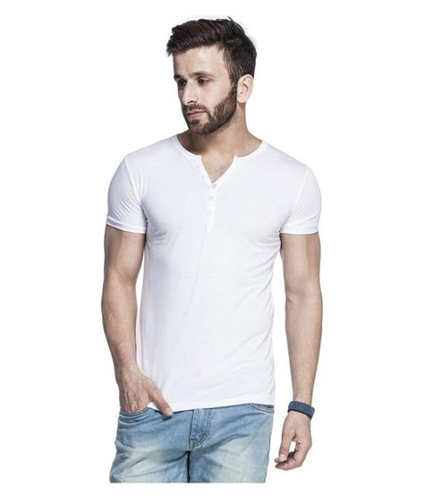White Henley Shirt by Tinted White Henley T Shirt Buy Tinted White Henley T Shirt At Low Price Snapdeal