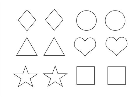 shape templates for photoshop shape basic shape template templates for preschoolers free