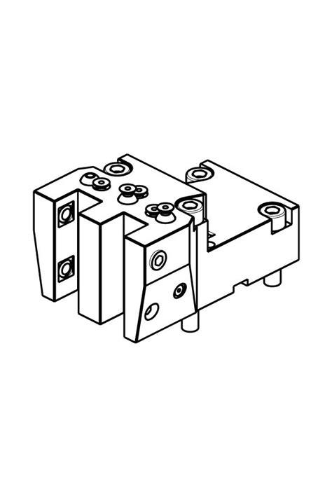 M.T. S.r.l. – RADIAL DOPPEL-WERKZEUGHALTER H=70 mm