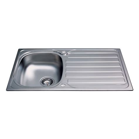 Stainless Steel Sink Bowl by Ka20ss Stainless Steel Compact Single Bowl Sink Cda