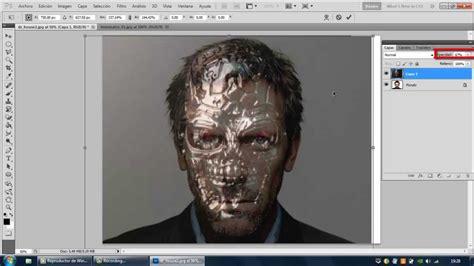 tutorial photoshop cs5 efecto explosión de cara youtube tutorial como crear un efecto robot en un rostro