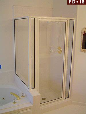 Shower Doors Houston Fd 18 Framed Glass Shower Enclosure Glass Shower Doors Houston