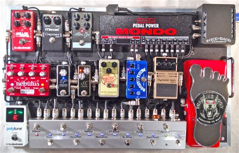 Building A Guitar Rack System by Voodoo Lab View Topic Rack Canada Versatile