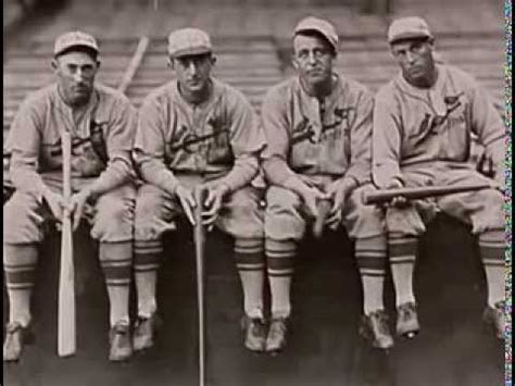 gas house gang the world series chion 1934 cardinals quot the gashouse gang quot youtube