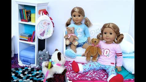 Sleepover Dolls american doll sleepover sets