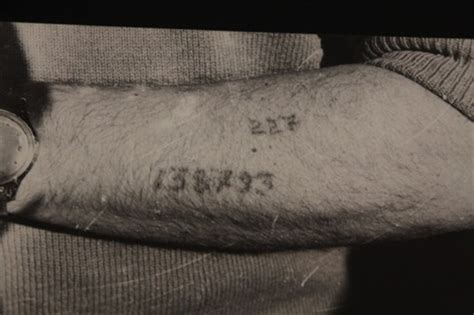 tattoo numbers in holocaust tattoo id number only at auschwitz auschwitz poland
