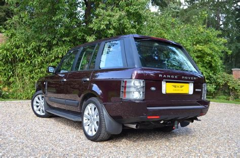 land rover burgundy used burgundy metalic land rover range rover for sale