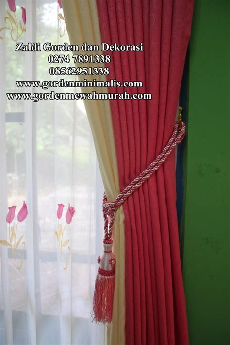 Kawat Tutup Dan Isi Rel Gorden jual gorden murah harga promosi untuk lebaran gorden