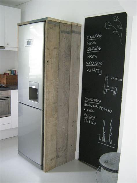 landelijke keuken elephant houten ombouw koelkast idee 235 n interieur pinterest