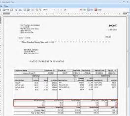 Payroll Check Stubs Template by Paycor Pay Stubs Autos Post