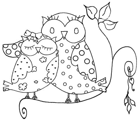 coloring page of owl free the owl p coloring pages