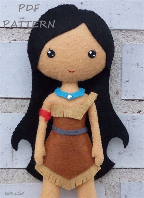 pattern felt doll pinterest pdf sewing pattern to make a felt doll inspired in
