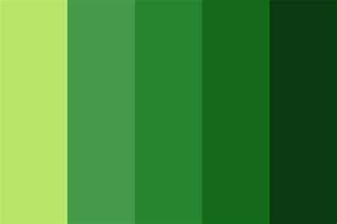 green palette colors screaming green color palette