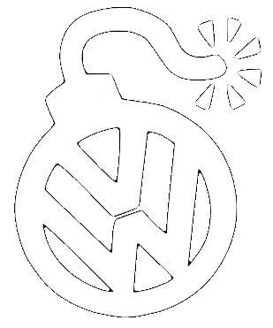Volkswagen Logo Aufkleber by Vw Aufkleber Vw Emblem