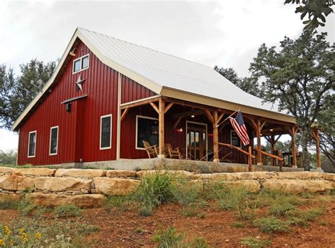 tin shed house design barn wood home ponderosa country barn home project
