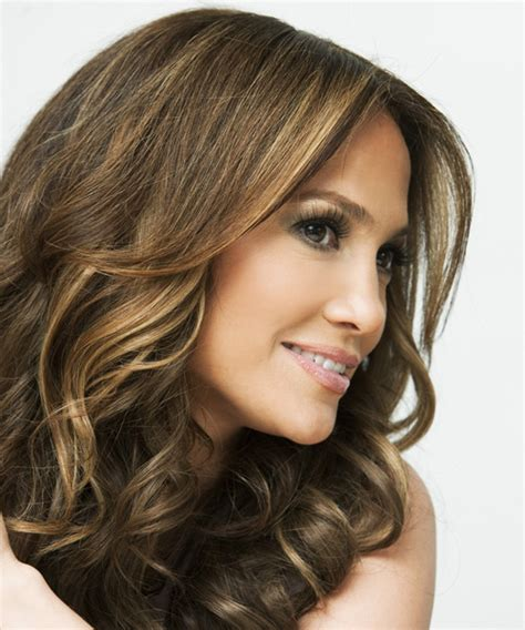 j lo hair new short curly 2014 jennifer lopez long wavy formal hairstyle medium brunette