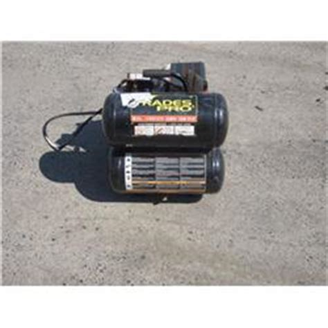 trades pro 5 gallon air compressor