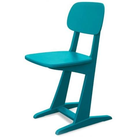 chaise bleu canard chaise 224 patins bleu canard laurette mobilier smallable