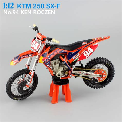 Diecast Miniatur Motor Trail Cross Ktm 450 Sx F 2009 Replika Murah get cheap race motor bike aliexpress alibaba