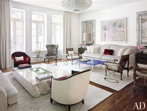 two rugs in one room contemporary living room by ingrao inc by architectural digest ad designfile home